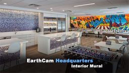 EarthCam Headquarters Interior Mural Time-Lapse