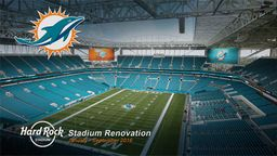 Miami Dolphins Hard Rock Stadium Renovation Time-Lapse