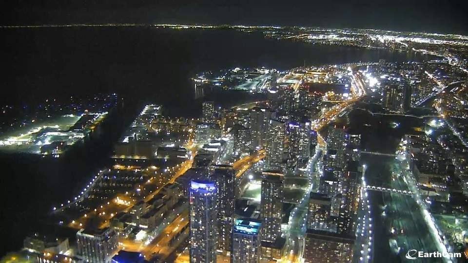 Toronto webcam cn tower