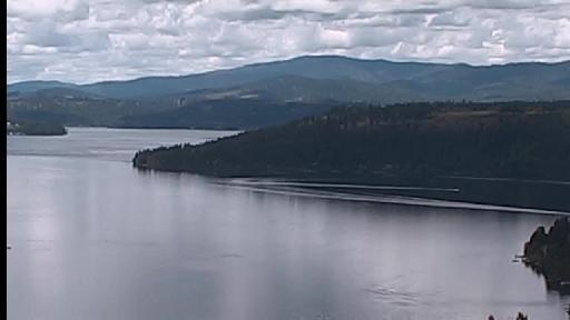 Lake Coeur d' Alene Idaho