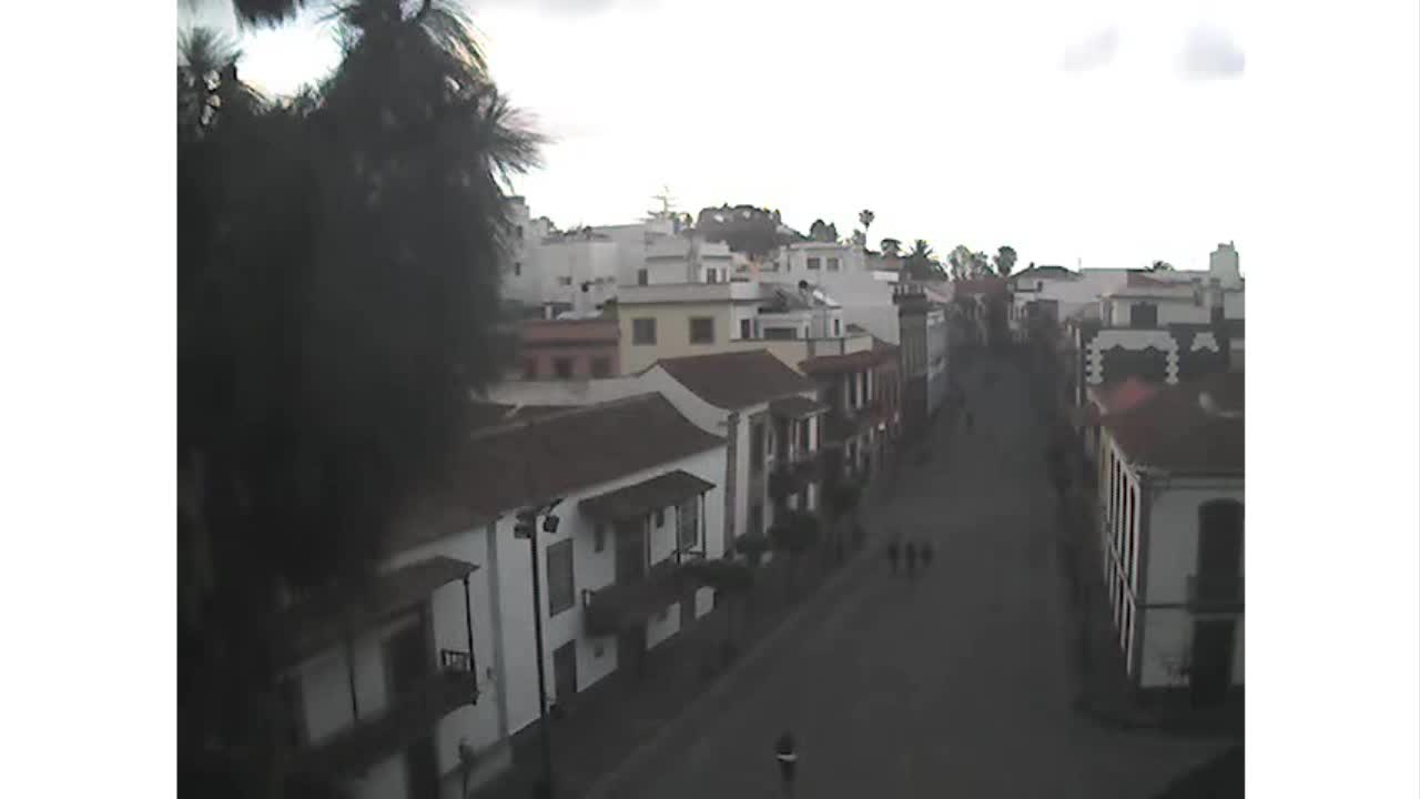 Webcam Calle Real y Plaza del Pino