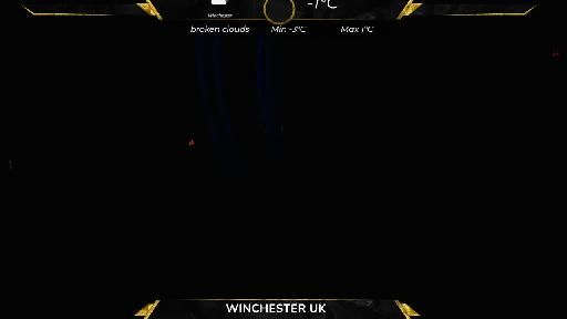 Winchester weather cam