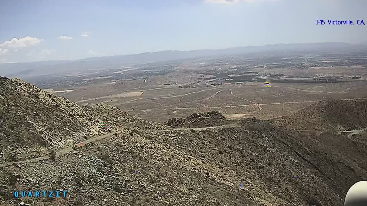 View of I-15 and Victorville Apple Valley