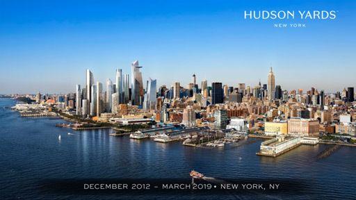 Hudson Yards Time-Lapse