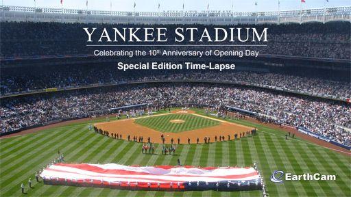 Yankee Stadium Time-Lapse